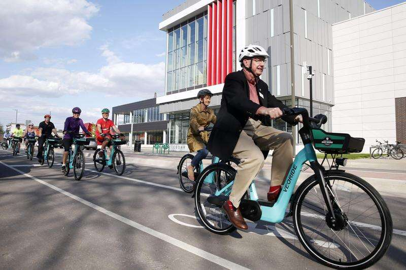 New bike share could boost business in downtown Cedar Rapids