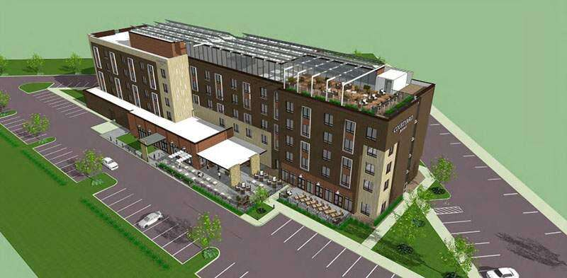 Opening for hotel across from Kinnick Stadium pushed back to April 2021