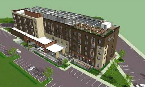 Opening for hotel across from Kinnick Stadium pushed back to…