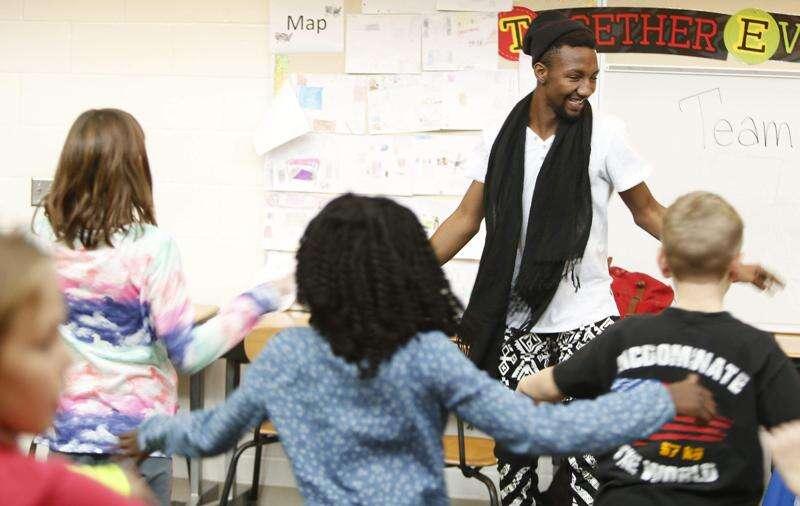 Dancer brings craft to Iowa City schools