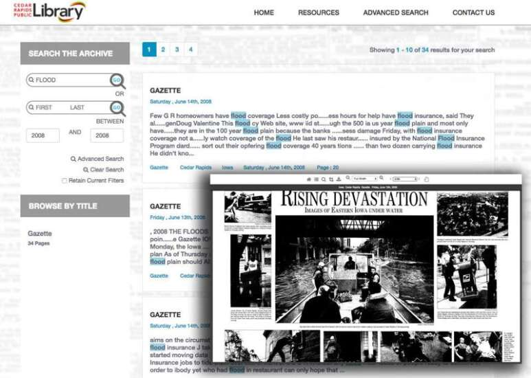 Gazette archives now available in digital, searchable format thanks to partnership