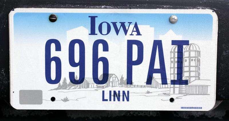 New Iowa license plates on the way