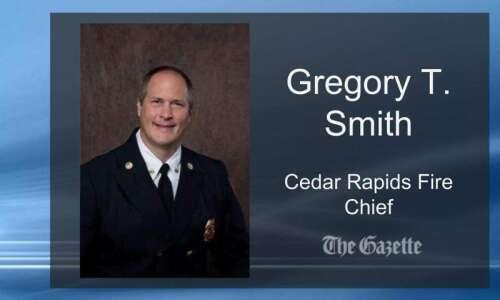 Cedar Rapids hires new fire chief