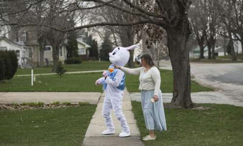 Photos: Easter bunny visits kids in Clarence