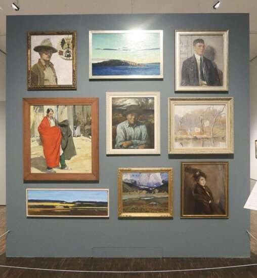 200 years of American painting: Traveling exhibit opens Tuesday at Davenport art museum