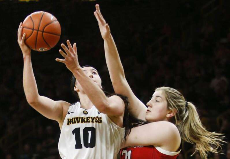 Physical defense has made Iowa's Megan Gustafson work harder for her points