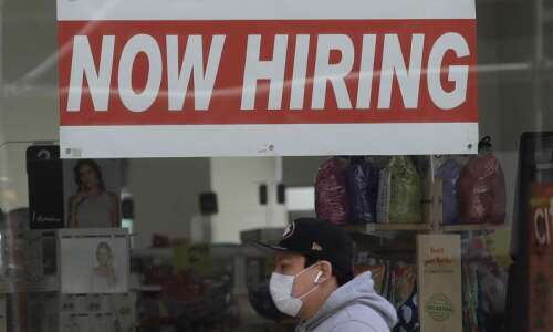 New unemployment claims in Iowa jump to highest level since…