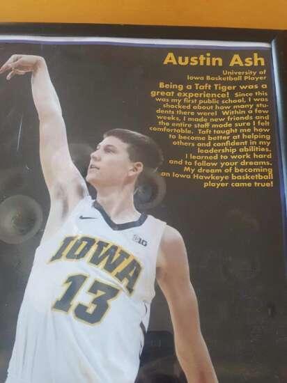 Hawkeye walk-on Austin Ash will walk away with kudos from Iowa teammates