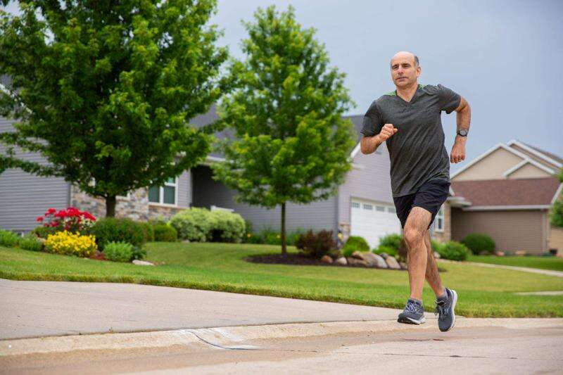 Racing shoes and racing heart — changing course toward recovery