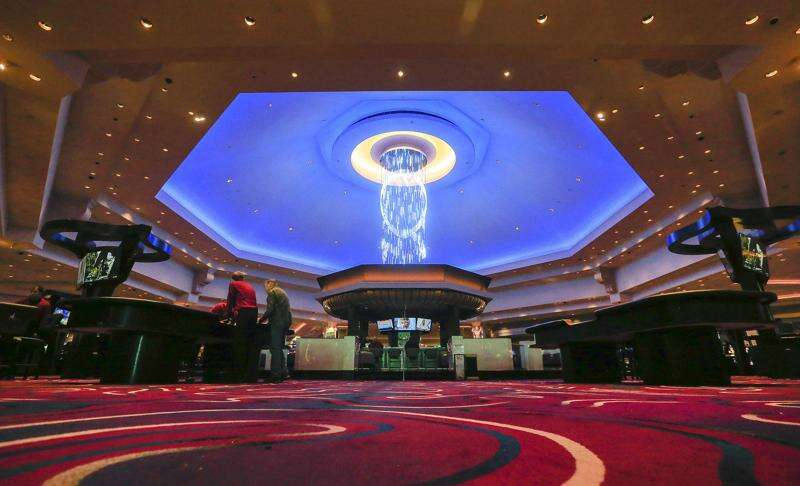 Reopened Riverside Casino sees 'brisk' traffic on first day back open