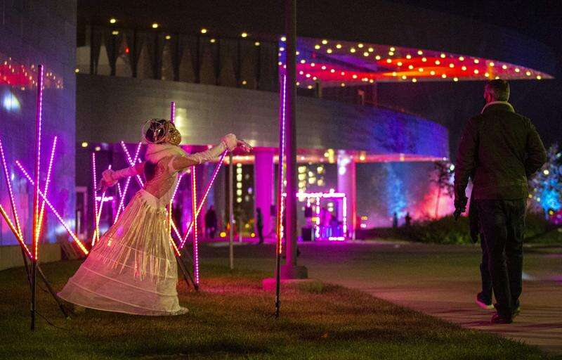 'Hancher Illuminated' returning to Iowa City on an even larger scale