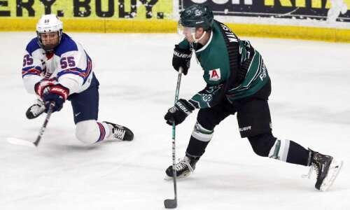 Cedar Rapids RoughRiders jump right into USHL playoffs fresh off…