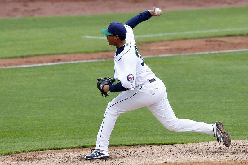 Acquired from the Yankees, Cedar Rapids Kernels pitcher Luis Rijo might just be a prospect