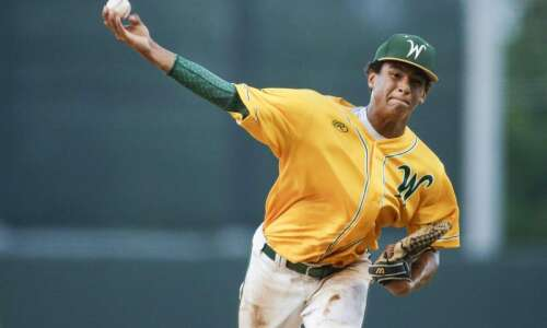 Iowa City West's Marcus Morgan decides to play baseball at…