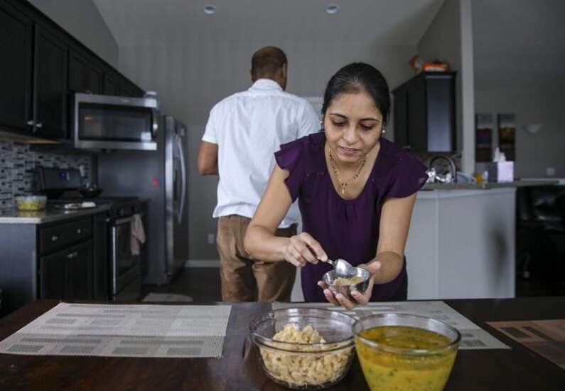 A Taste of Home: Marion couple's meals feature spices, nuts, curries