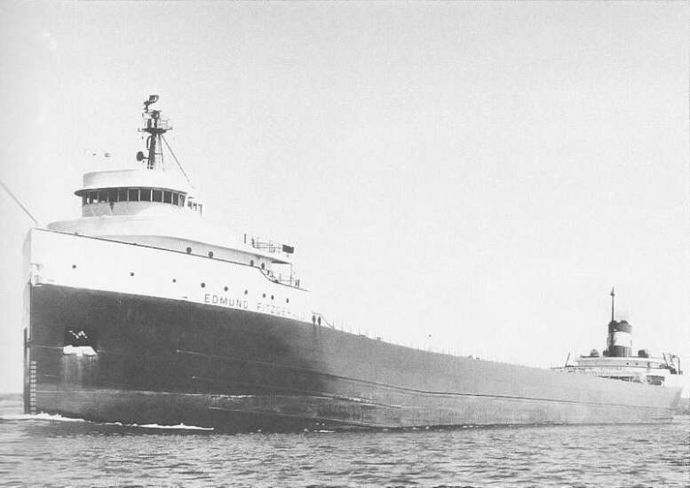 TIME MACHINE: Edmund Fitzgerald — the ill-fated ship bore name of insurance company president
