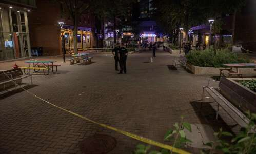 Police investigating shots fired in downtown I.C. on Ped Mall