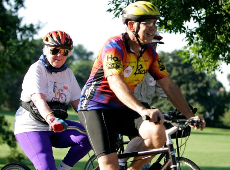 Time Machine: The Mayor's Bike Ride, a Labor Day staple, started in 2006 in Cedar Rapids