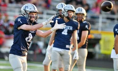 Who the ranked Iowa high school football teams face Friday