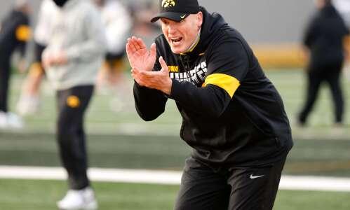 "New Iowa O-line coach George Barnett's heartfelt ""why"" he coaches"