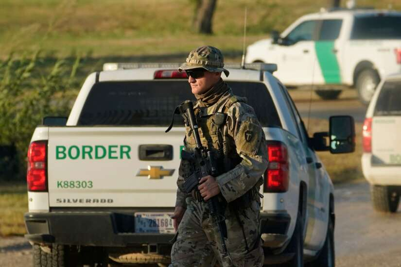 Iowa Gov. Kim Reynolds joins in call for White House summit on U.S.-Mexico border