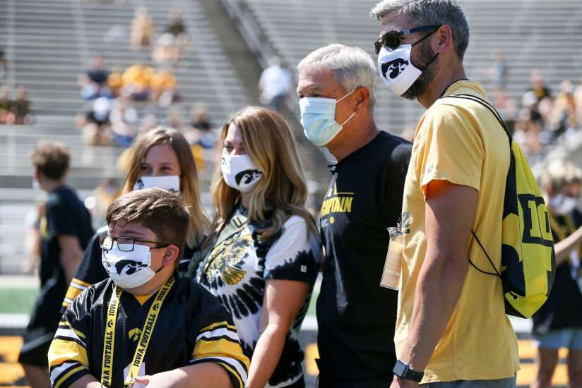 Iowa football notes: Hawkeyes over 90% vaccinated, Kinnick game day has a few changes