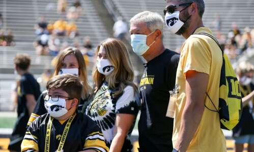 Iowa football notes: Hawkeyes over 90% vaccinated