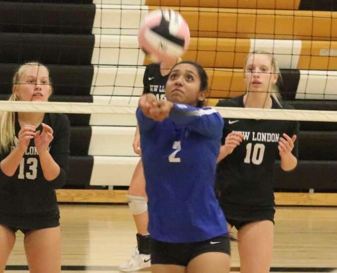 New London volleyball won't succumb to setbacks