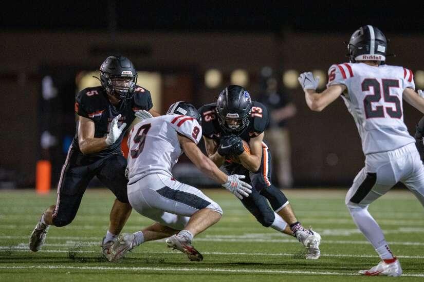 Photos: Williamsburg vs. Solon, Iowa high school football Week 3