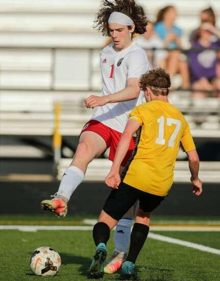 Photos: Williamsburg vs. Vinton-Shellsburg, Iowa high school boys' soccer