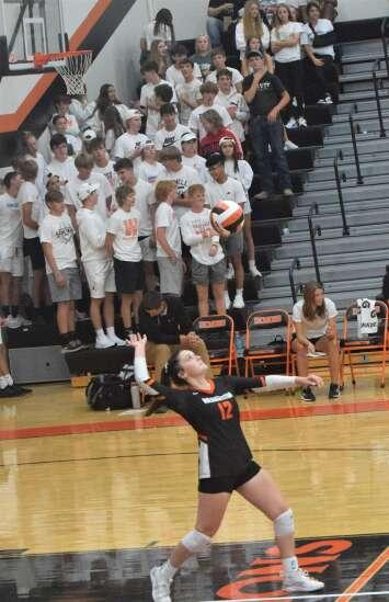 Mt. Pleasant sweeps Washington in SEC volleyball