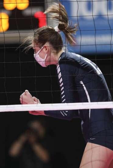 Photos: Cedar Rapids Xavier vs. Western Dubuque, Iowa Class 4A state volleyball tournament semifinal