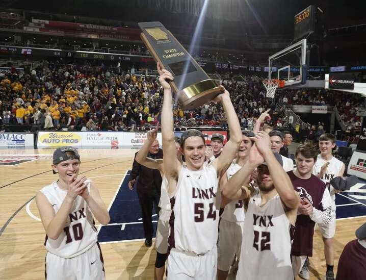 North Linn gets its boys' state basketball championship