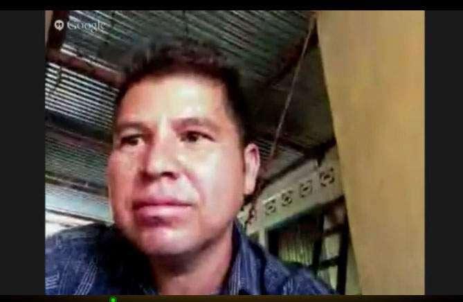 Pastor Max Villatoro supporters keep home fires burning