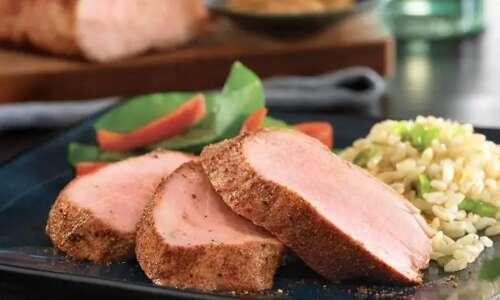Roasted Pork Tenderloin with Asian Dry Rub