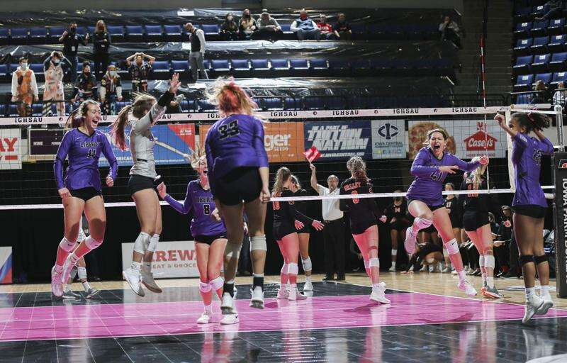 Photos: Iowa City Liberty vs. West Des Moines Valley - Iowa Class 5A state volleyball quarterfinals