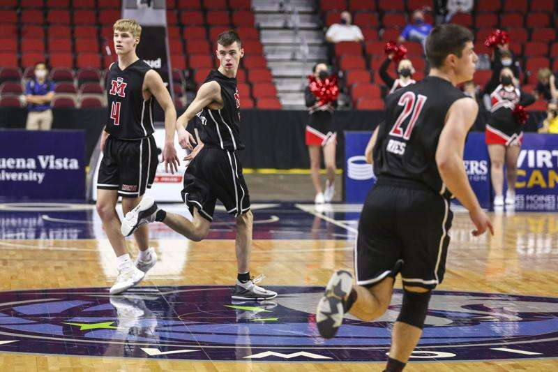 Monticello proves it belongs in Class 3A boys' state basketball loss to Pella