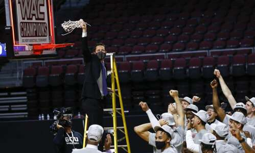 Iowa Hawkeyes start NCAA men's basketball tournament against Grand Canyon…