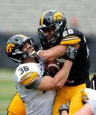 Iowa spring game: Quick notes and videos