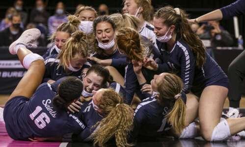 Cedar Rapids Xavier fulfills state volleyball championship destiny