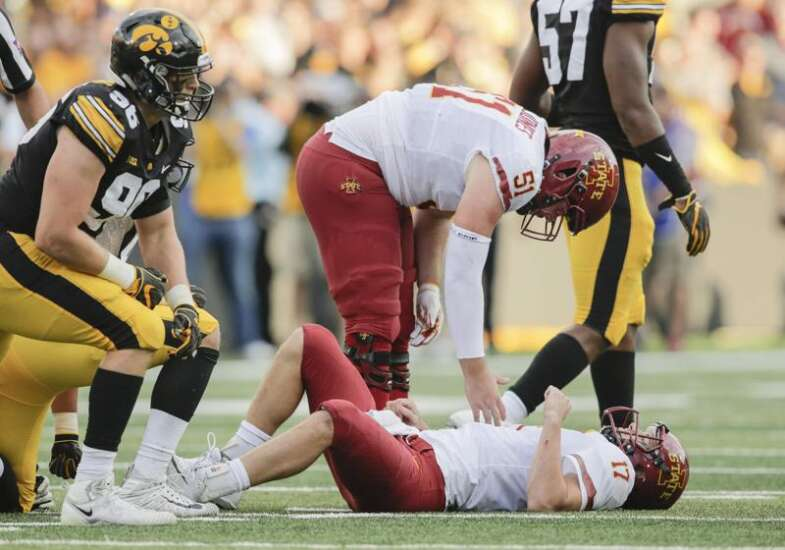 Iowa State football notes: Kyle Kempt's injury, Mike Rose's debut and more