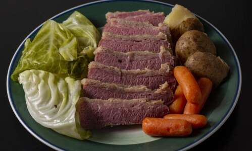 This classic corned beef and cabbage recipe is a St.…