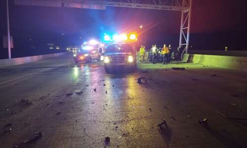 Man extricated from car in I-380 wrong-way crash with semi