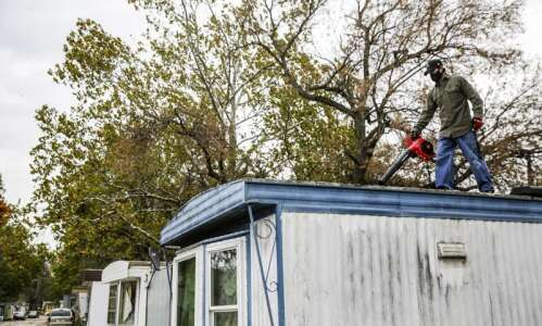 Developers promised Iowa City mobile home residents new homes. That…
