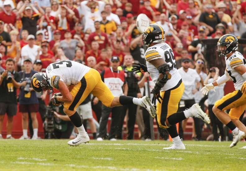 Game Report: Iowa Hawkeyes 27, Iowa State Cyclones 17