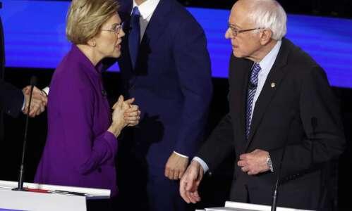 Elizabeth Warren-Bernie Sanders dust-up gets 'who cares?' from Iowa Democrats