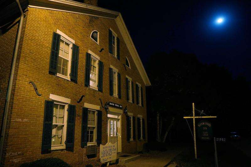 Friendly spirits walk among the guests at southeast Iowa's Mason House Inn