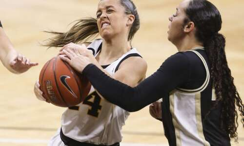 Iowa women's basketball: Defensive unit capitalizes on both ends in…