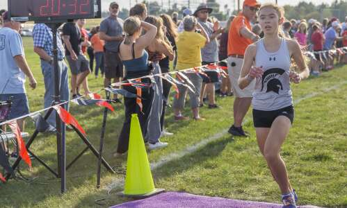 Solon's Kayla Young gets first individual title at state qualifier