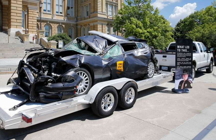 Officials see concerning trend in Iowa traffic deaths this year